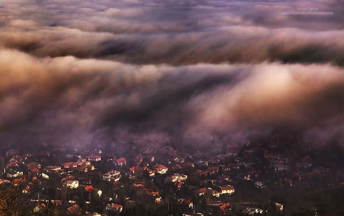 Φωτογράφος αφιέρωσε τέσσερα χρόνια απαθανατίζοντας τη Βουδαπέστη στην ομίχλη (1)