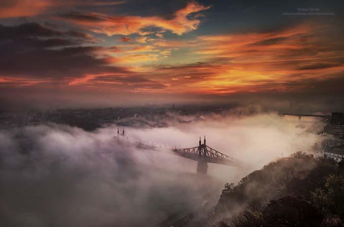 Φωτογράφος αφιέρωσε τέσσερα χρόνια απαθανατίζοντας τη Βουδαπέστη στην ομίχλη (6)