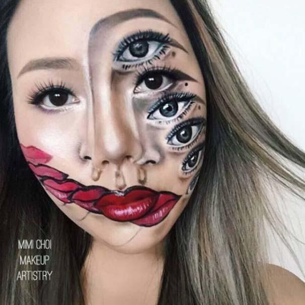 20+1 αλλόκοτα αλλά εντυπωσιακά μακιγιάζ ειδικών εφέ από την Mimi Choi 9ac327e12fb