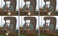 Αν το αφεντικό στο γραφείο ήταν γάτα