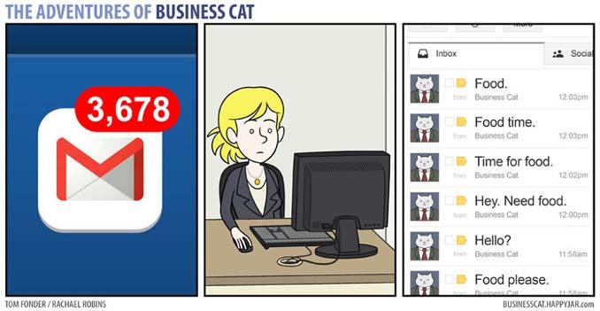 Αν το αφεντικό στο γραφείο ήταν γάτα (8)