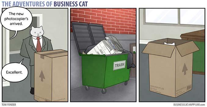 Αν το αφεντικό στο γραφείο ήταν γάτα (11)