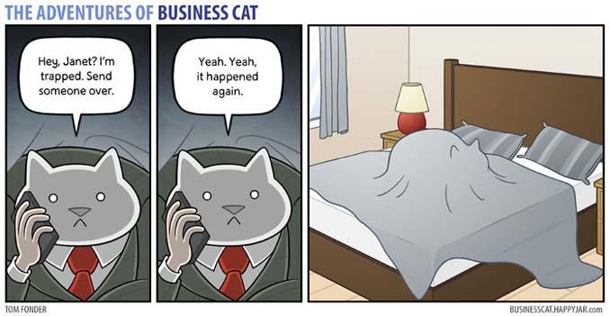 Αν το αφεντικό στο γραφείο ήταν γάτα (12)