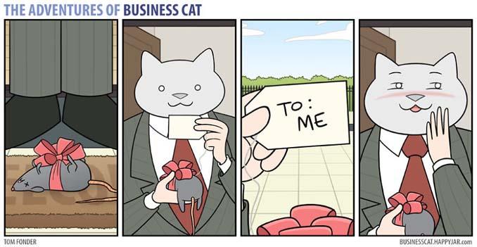 Αν το αφεντικό στο γραφείο ήταν γάτα (14)