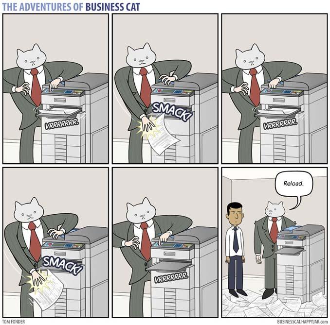 Αν το αφεντικό στο γραφείο ήταν γάτα (16)