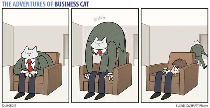 Αν το αφεντικό στο γραφείο ήταν γάτα (20)
