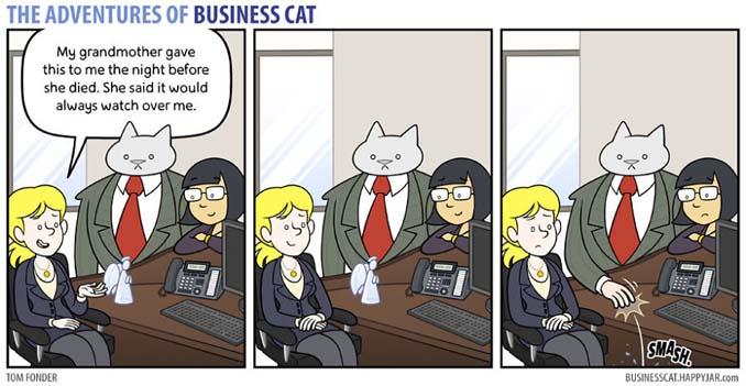 Αν το αφεντικό στο γραφείο ήταν γάτα (22)