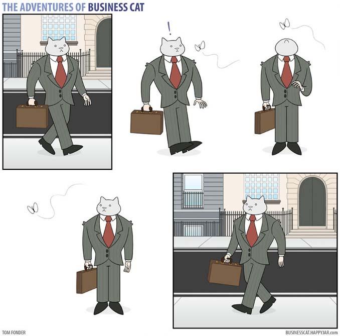 Αν το αφεντικό στο γραφείο ήταν γάτα (23)
