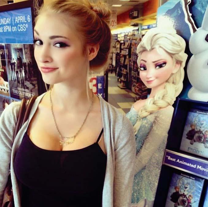Άνθρωποι που μοιάζουν εκπληκτικά με χαρακτήρες της Disney (5)