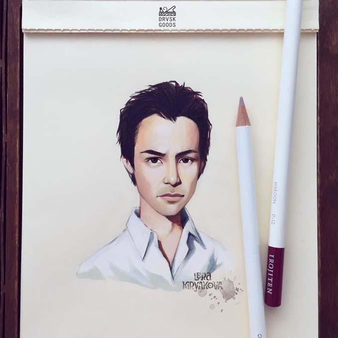Διάσημοι μετατρέπονται σε χαρακτήρες καρτούν από ταλαντούχα καλλιτέχνιδα (11)