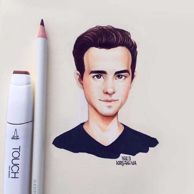 Διάσημοι μετατρέπονται σε χαρακτήρες καρτούν από ταλαντούχα καλλιτέχνιδα (22)