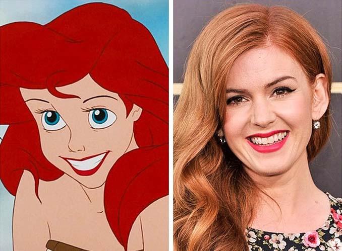 Διάσημοι που θυμίζουν έντονα χαρακτήρες της Disney (8)