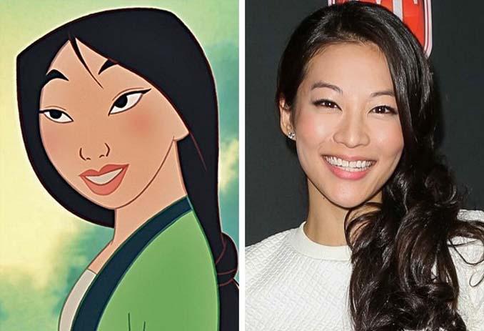 Διάσημοι που θυμίζουν έντονα χαρακτήρες της Disney (15)