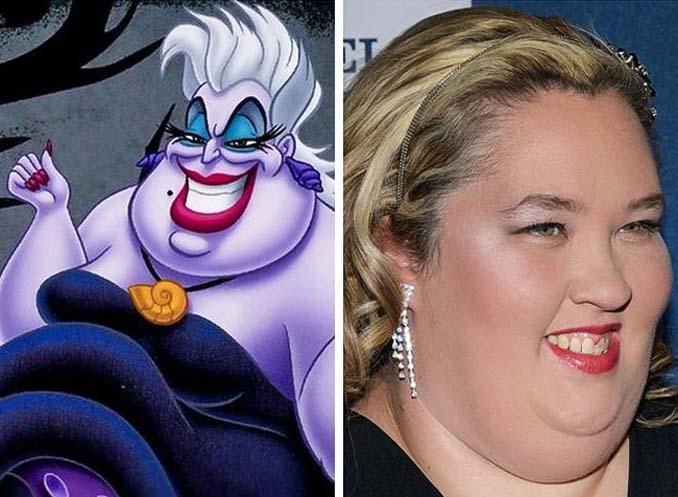 Διάσημοι που θυμίζουν έντονα χαρακτήρες της Disney (18)