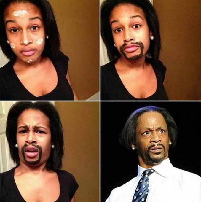 Εξωπραγματικές μεταμορφώσεις με μακιγιάζ (5)