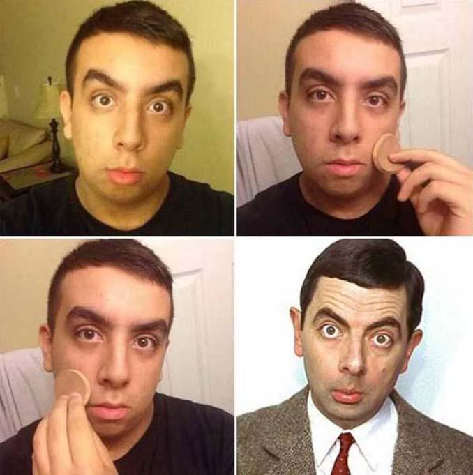 Εξωπραγματικές μεταμορφώσεις με μακιγιάζ (10)