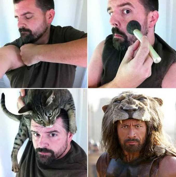 Εξωπραγματικές μεταμορφώσεις με μακιγιάζ (12)