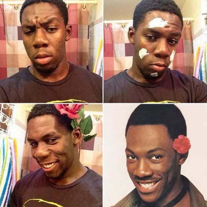 Εξωπραγματικές μεταμορφώσεις με μακιγιάζ (17)