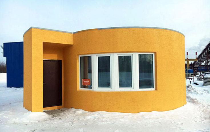 Εταιρεία κατασκεύασε σπίτι με 3D εκτύπωση μέσα σε 24 ώρες (1)