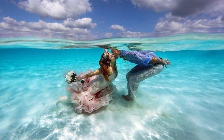 Γάμος στα κρυστάλλινα νερά της Καραϊβικής (1)