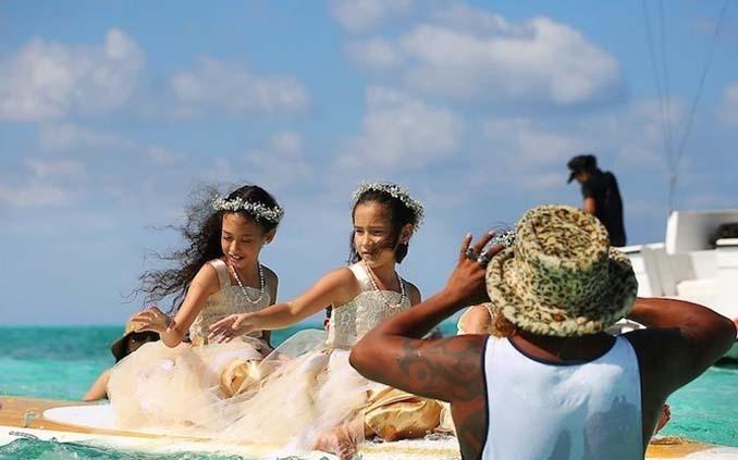 Γάμος στα κρυστάλλινα νερά της Καραϊβικής (5)