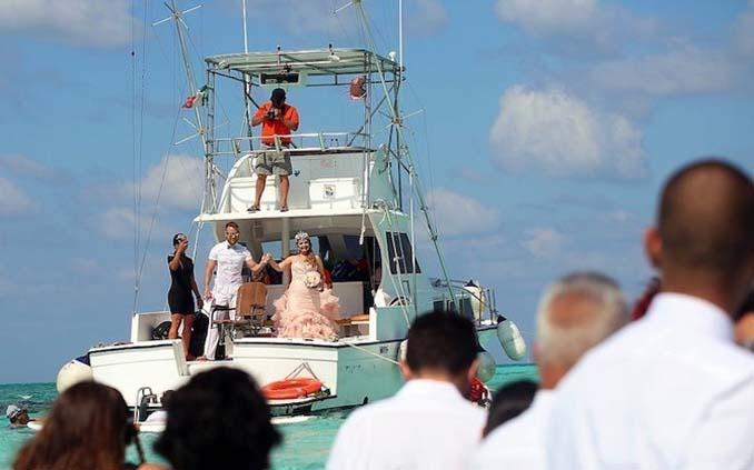 Γάμος στα κρυστάλλινα νερά της Καραϊβικής (6)