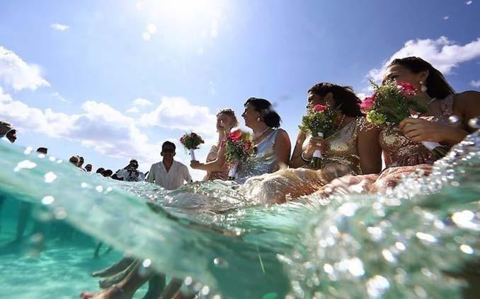 Γάμος στα κρυστάλλινα νερά της Καραϊβικής (7)