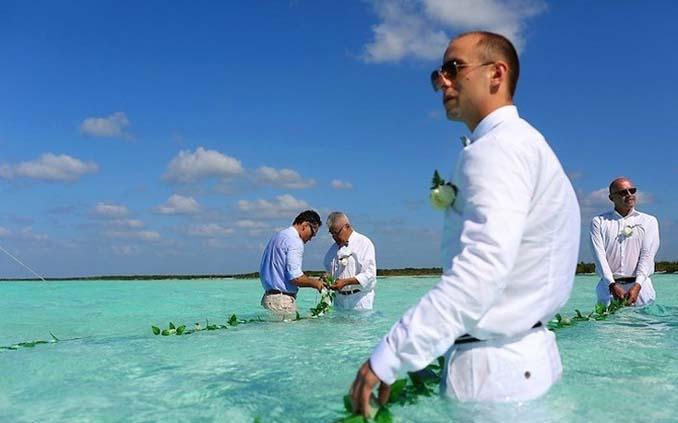Γάμος στα κρυστάλλινα νερά της Καραϊβικής (8)