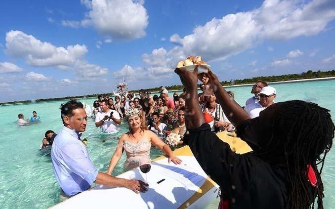 Γάμος στα κρυστάλλινα νερά της Καραϊβικής (10)