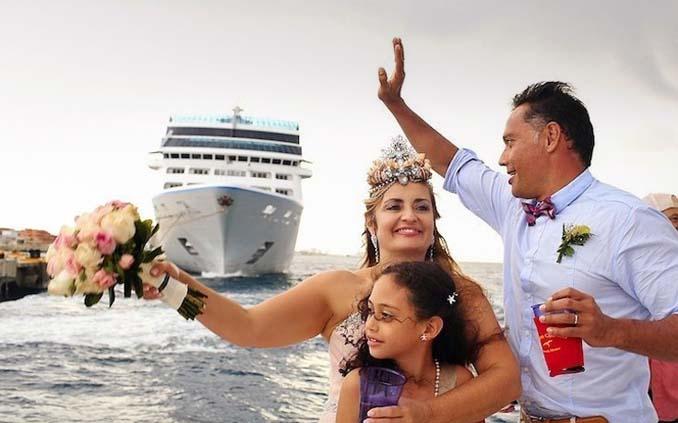 Γάμος στα κρυστάλλινα νερά της Καραϊβικής (11)