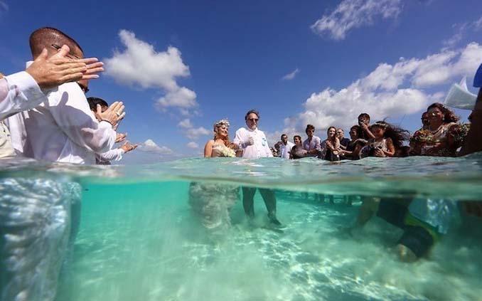 Γάμος στα κρυστάλλινα νερά της Καραϊβικής (13)
