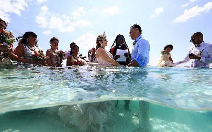 Γάμος στα κρυστάλλινα νερά της Καραϊβικής (14)