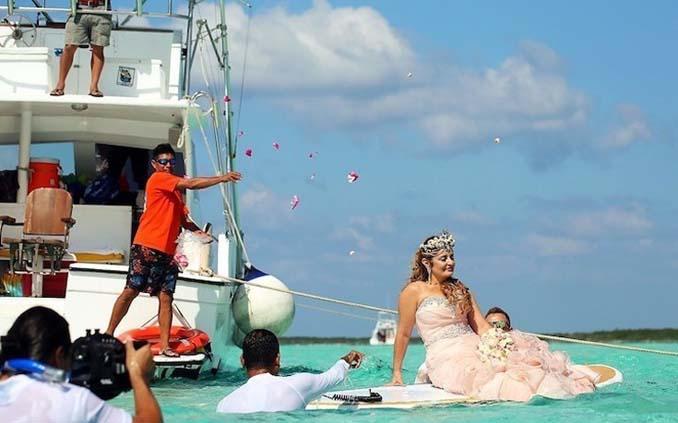 Γάμος στα κρυστάλλινα νερά της Καραϊβικής (15)