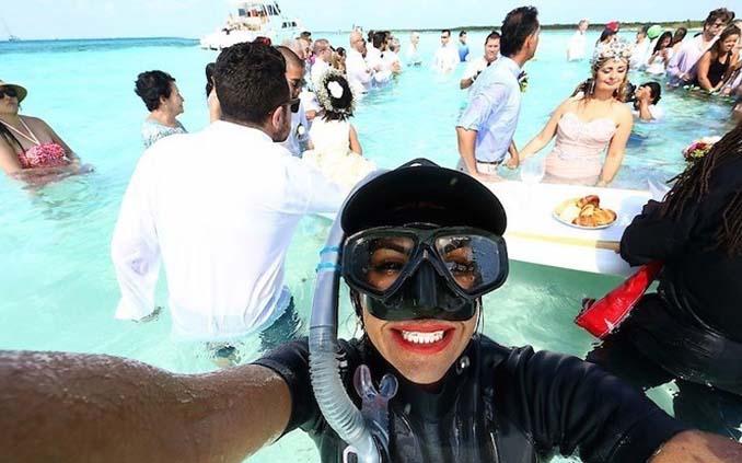 Γάμος στα κρυστάλλινα νερά της Καραϊβικής (16)