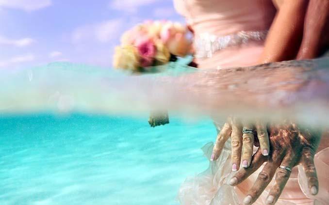 Γάμος στα κρυστάλλινα νερά της Καραϊβικής (17)