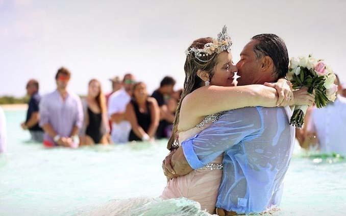 Γάμος στα κρυστάλλινα νερά της Καραϊβικής (19)
