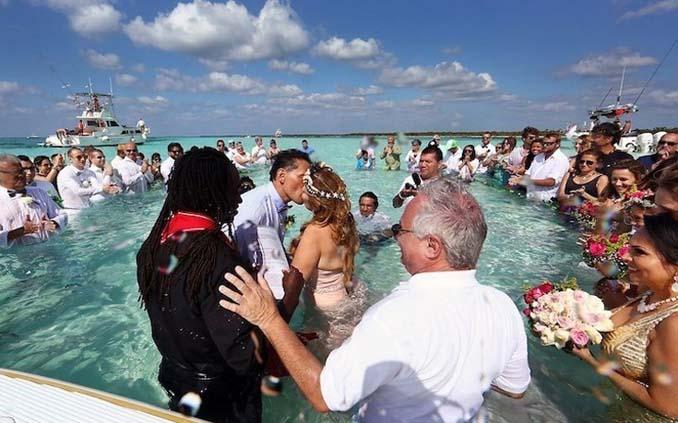 Γάμος στα κρυστάλλινα νερά της Καραϊβικής (20)