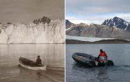 Η κλιματική αλλαγή μέσα από σοκαριστικές φωτογραφίες των παγετώνων της Αρκτικής (8)
