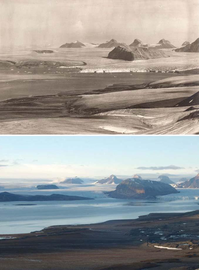 Η κλιματική αλλαγή μέσα από σοκαριστικές φωτογραφίες των παγετώνων της Αρκτικής (6)