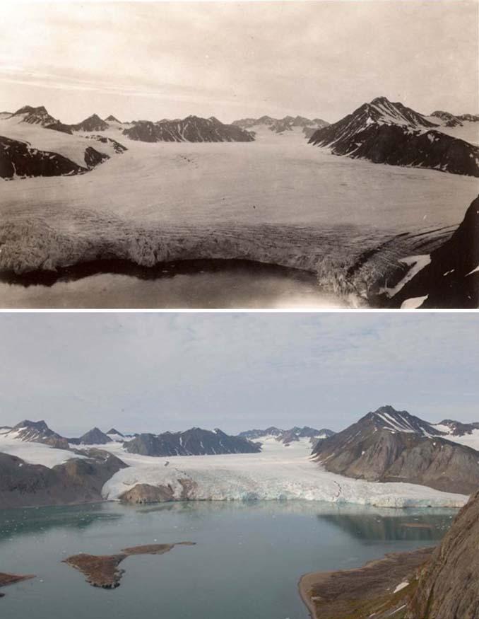 Η κλιματική αλλαγή μέσα από σοκαριστικές φωτογραφίες των παγετώνων της Αρκτικής (7)