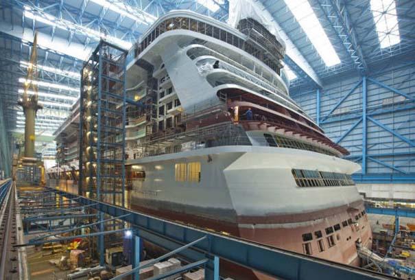 Κρουαζιερόπλοιο σε φάση κατασκευής (5)