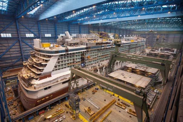 Κρουαζιερόπλοιο σε φάση κατασκευής (8)