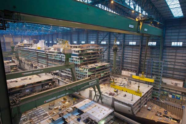 Κρουαζιερόπλοιο σε φάση κατασκευής (10)