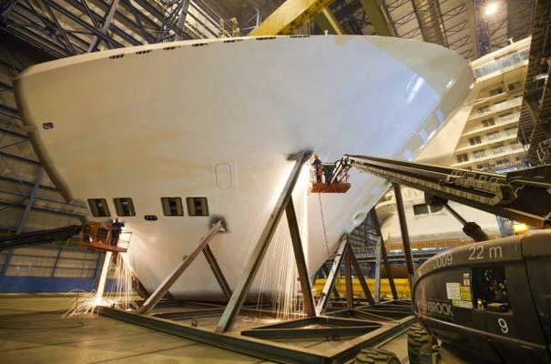 Κρουαζιερόπλοιο σε φάση κατασκευής (15)