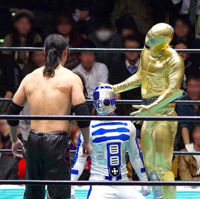 Κωμικοτραγικά στιγμιότυπα από τον θεότρελο κόσμο της πάλης στην Ιαπωνία (3)