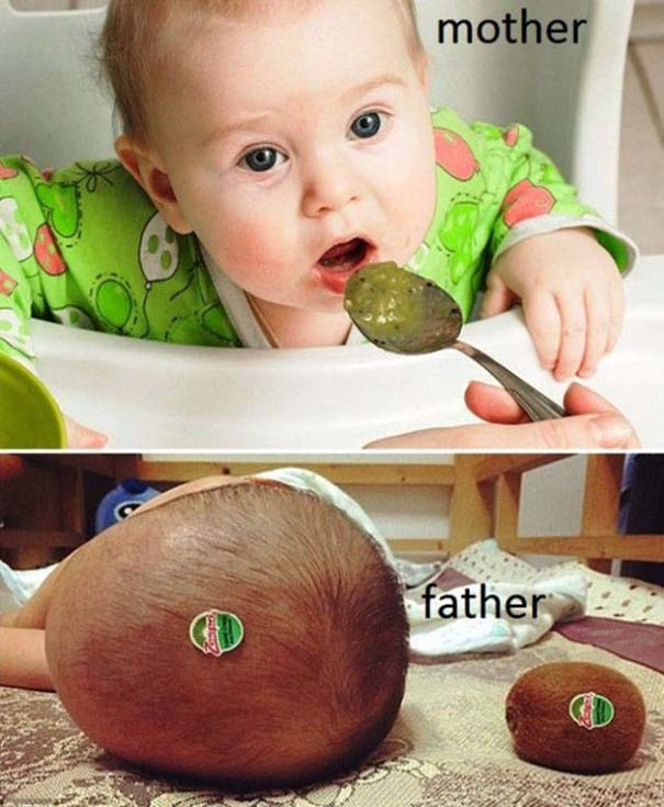 Μαμάδες vs Μπαμπάδες μέσα από 17 χιουμοριστικές φωτογραφίες (1)