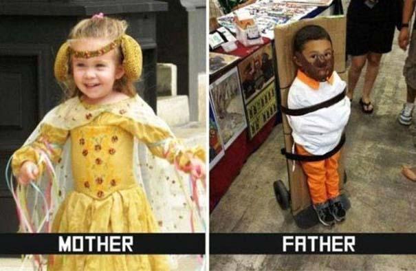 Μαμάδες vs Μπαμπάδες μέσα από 17 χιουμοριστικές φωτογραφίες (17)