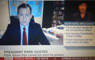 Μιλούσε στο BBC από το σπίτι του όταν προέκυψε μια ξεκαρδιστική εισβολή