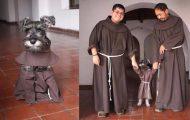 Μοναστήρι υιοθέτησε σκύλο