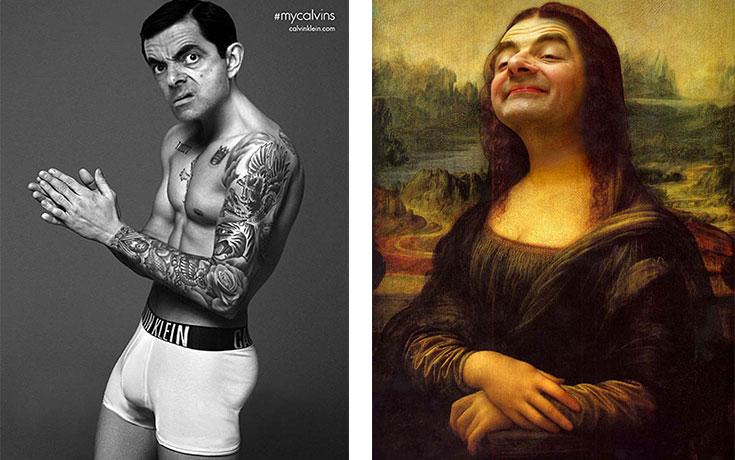 Ο Mr Bean πρωταγωνιστεί στις πιο ξεκαρδιστικές δημιουργίες με Photoshop (1)